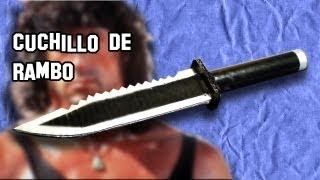 Como Hacer El Cuchillo De Rambo Armas Caseras Fáciles