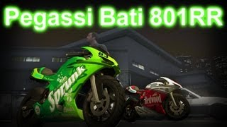 GTA V How To Get Pegassi Bati 801RR (Ducati 1198) HD