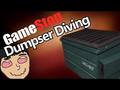 Gamestop Dumpster Diving (Free Games)