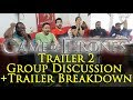Game of Thrones Trailer 2 Group Reaction