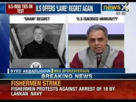 'Stripped' of dignity: Nancy Powell regrets handling of Devyani case - NewsX