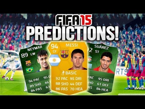 FIFA 15 - LIONEL MESSI - (FIFA 15 Card Rating Predictions)