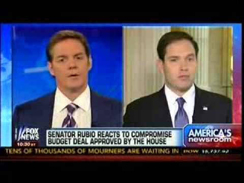 Senator Rubio React To Compromise Budget Deal Approved By House   America's Newsroom