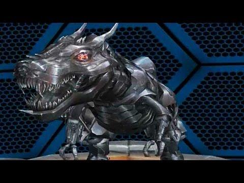 Transformers: Age of Extinction - Unlocked Grimlock // T-Rex Dinobot