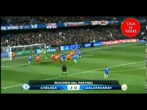 Chelsea 2 Galatasaray 0 - UEFA Champions League 13-14 All Goals & Highlights