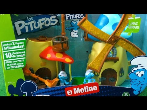 Smurfs Windmill Playset Jakks Pacific