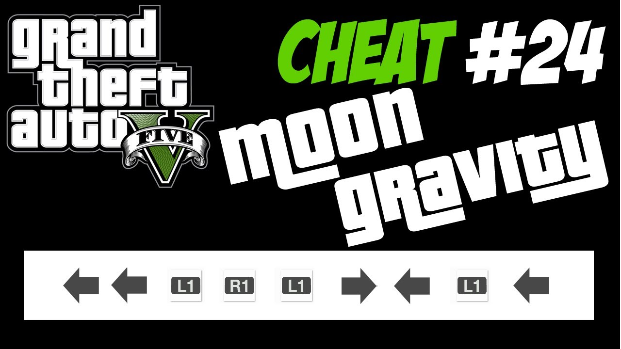GTA 5 Trucchi #24 - GRAVITA' LUNARE [PS3 Xbox 360 HD ITA] Cheat Moon ...