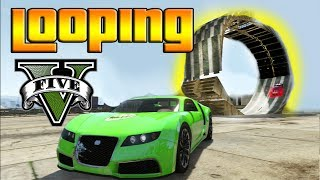 GTA V Online LOOPINGS BRUTALES! Como Crear Loopings