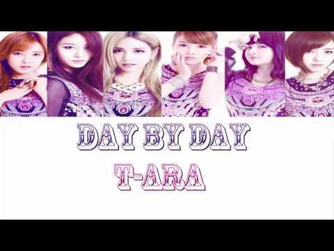 [ Phiên âm lời việt  ] Day By Day - T-ara   Musickorea