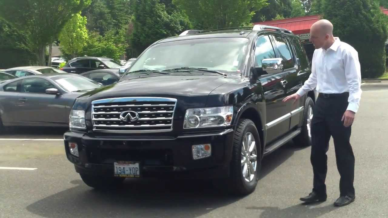 Qx56 pictures photo prices specification photos review displaying 20gt images for infiniti qx56 2013 black vanachro Gallery