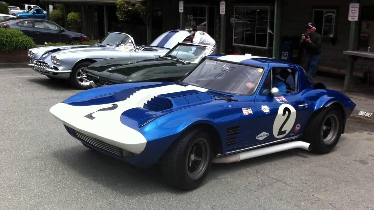 Original Corvette Grand Sport 003 At Alice S Restaurant