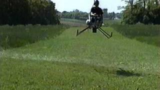 Solar turbine engine powered A/W 95 experimental helicopter