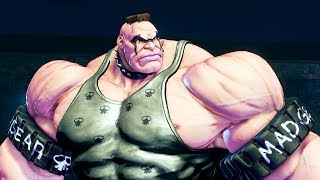 Street Fighter V - Abigail Reveal Trailer