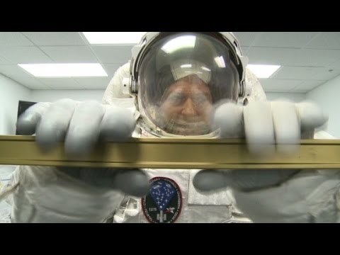 See how NASA spacesuits are tested
