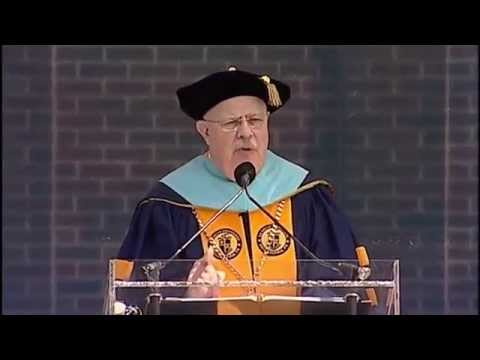 2014 Commencement: President Br. Michael J. McGinniss