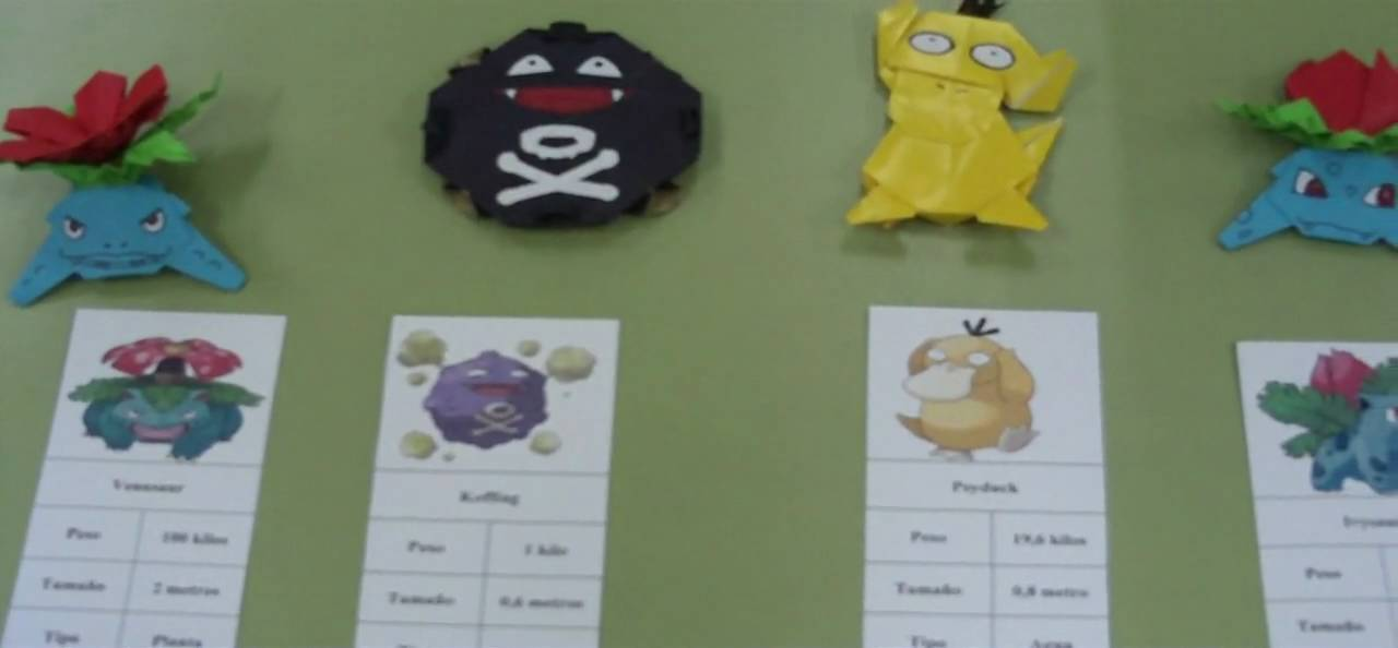 Pokemon Origami Paper Choice Image Instructions Easy For Kids