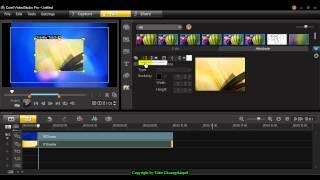 การสร้างเทคนิคพิเศษให้กับวิดีโอด้วย Mask Frame