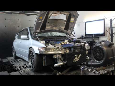 672WHp Borg warner S362 on Evo 8 built 2.0