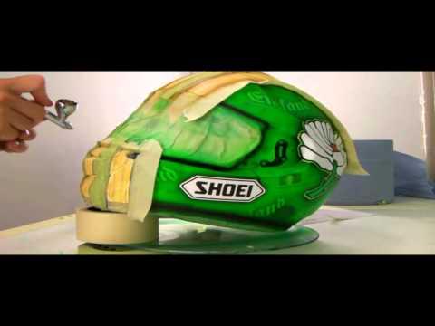 Darren Gough's Shoei GT-Air design by PaintNation