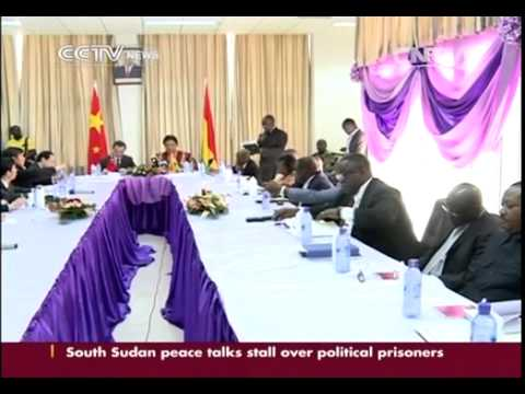 Chinese FM Wang Yi calls for all round cooperation with Ghana CCTV News   CNTV English