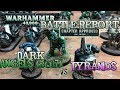 GMG REVIEWS and BATTLE REPORT New Codex Dark Angels vs Tyranids