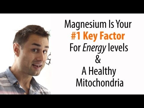 Magnesium Deficiency And Your Mitochondria