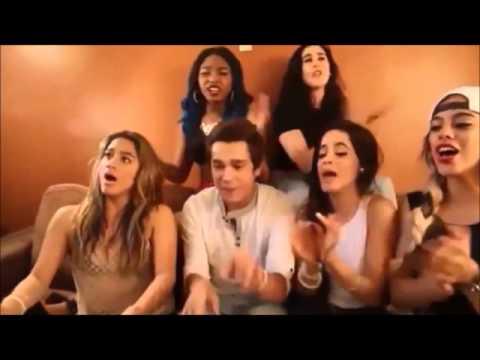 Austin Mahone,Camila Cabello e Shawn Mendes