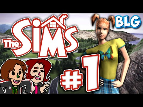 Let's Play The Sims 1 (Console) - Part 1 - Mom!!