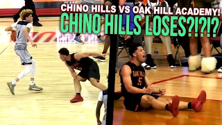 Chino Hills VS Oak Hill Academy GAME OF THE YEAR! Chino Hills FIRST LOSS in 2 YEARS! FULL HIGHLIGHTS