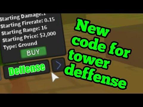 Roblox Tower Defense Simulator Codes