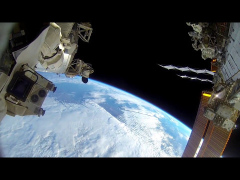 EVA 30 / 31 GoPro Spacewalk  ISS EVAs : Astronaut Terry Virts 2015 NASA