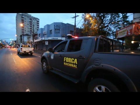 Força Nacional inicia operação nas ruas de Porto Alegre