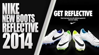 NIKE WHITE REFLECTIVE FOOTBALL BOOT PACK 2014 [ PES 2013