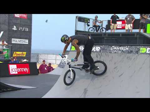 Kyle Baldock Run 2 - Dew Tour Ocean City BMX Park Finals