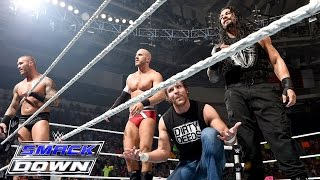 8-Man Tag Team Match: SmackDown, Aug. 20, 2015
