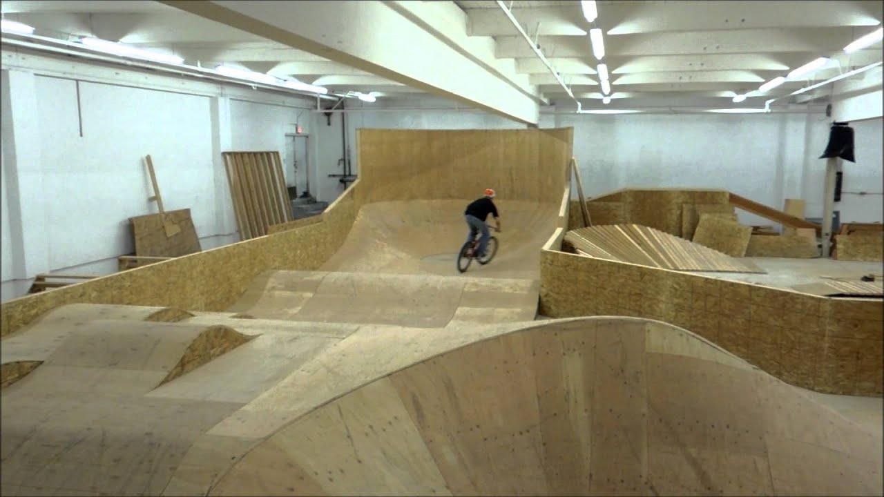 Backyard Wood Pump Track : Lumber yard pump track  YouTube