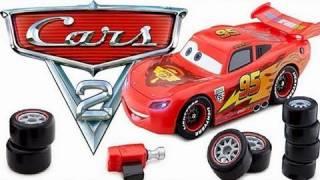 Cars 2 Transforming Lightning McQueen From Disney Store