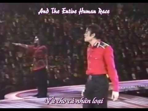 [Vietsub-Lyrics] Michael Jackson at Clinton Gala 1993