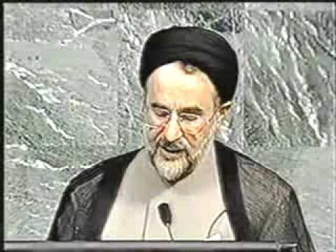 Iranian president Khatami introduced the idea of