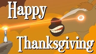 Happy Thanksgiving from The Creatures! (Animation)