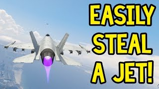 How To: Get A Military Jet Online! (GTA 5 Online Guide