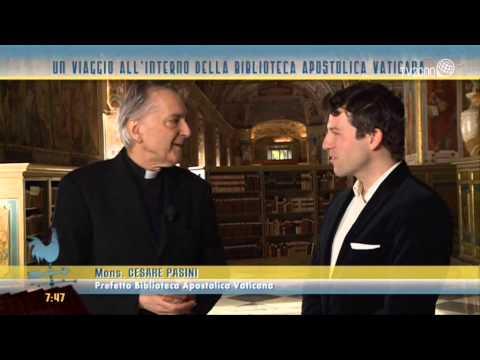 Anteprima nella Biblioteca Vaticana