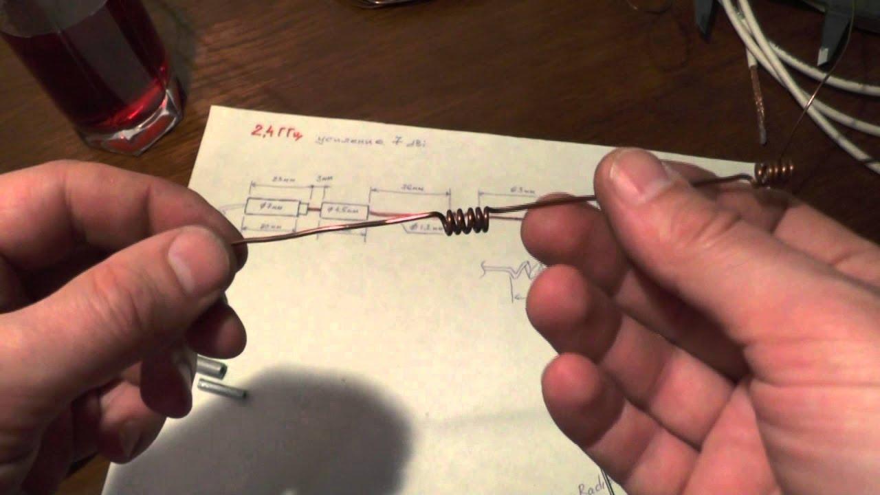 Антенна усилитель для роутера своими руками 21