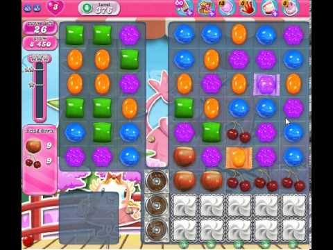 How to beat Candy Crush Saga Level 376 - 2 Stars - No Boosters - 268