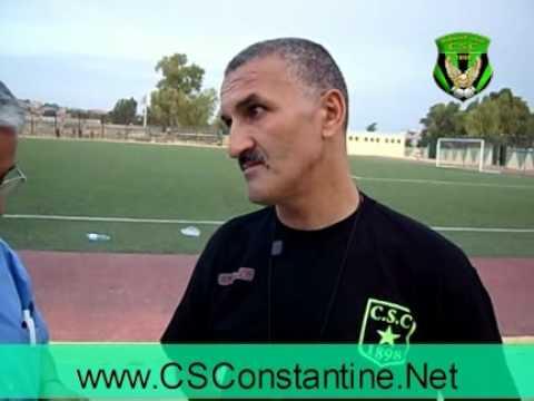Interview avec Laib Salim - CSConstantine 2010