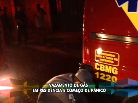 Família fica em pânico com vazamento de gás no Bairro Maravilha