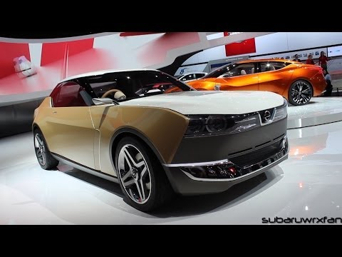 Nissan IDX and Sport Sedan Concept Design and Discussion: Detroit 2014