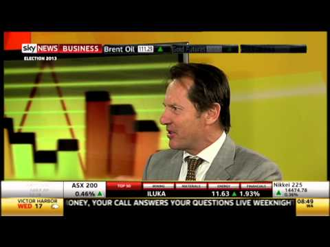 Oil, Gold & Copper - Sky News Business - 11 September 2013
