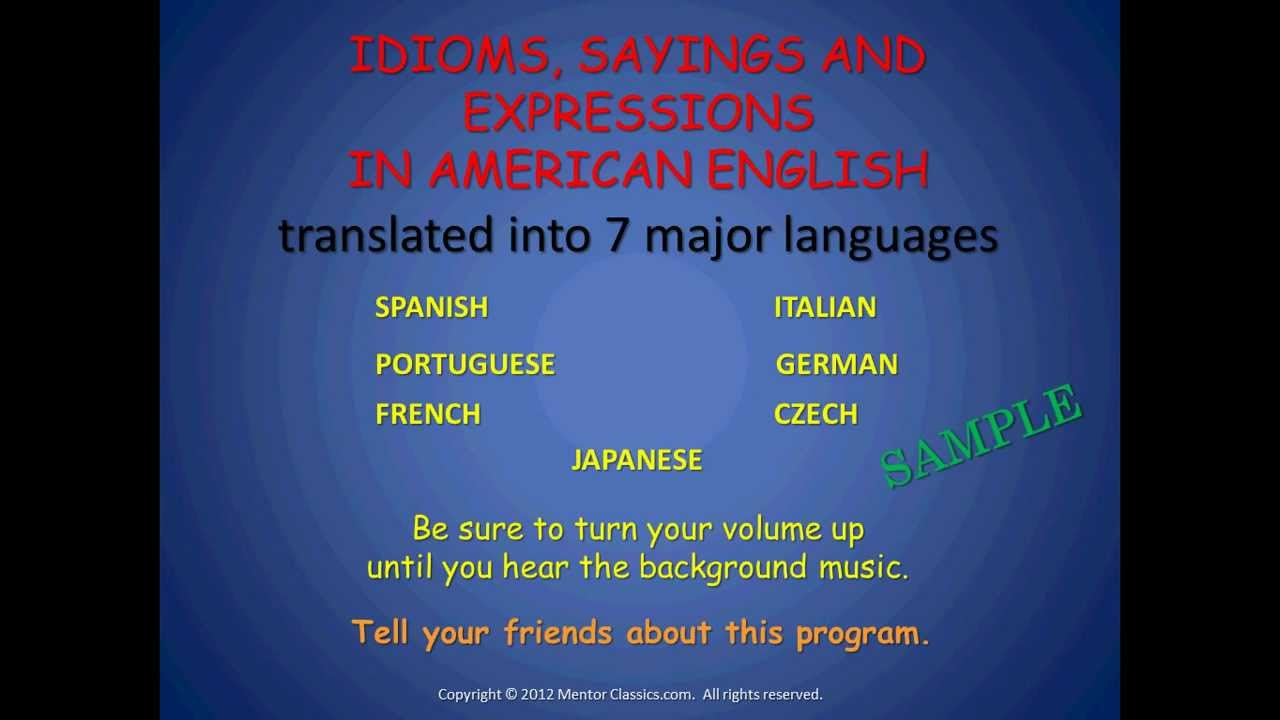 essay using idiomatic expression John's keys to success there are idiom and expression resources that can help with take this quiz to see if you understand these idiomatic phrases in.