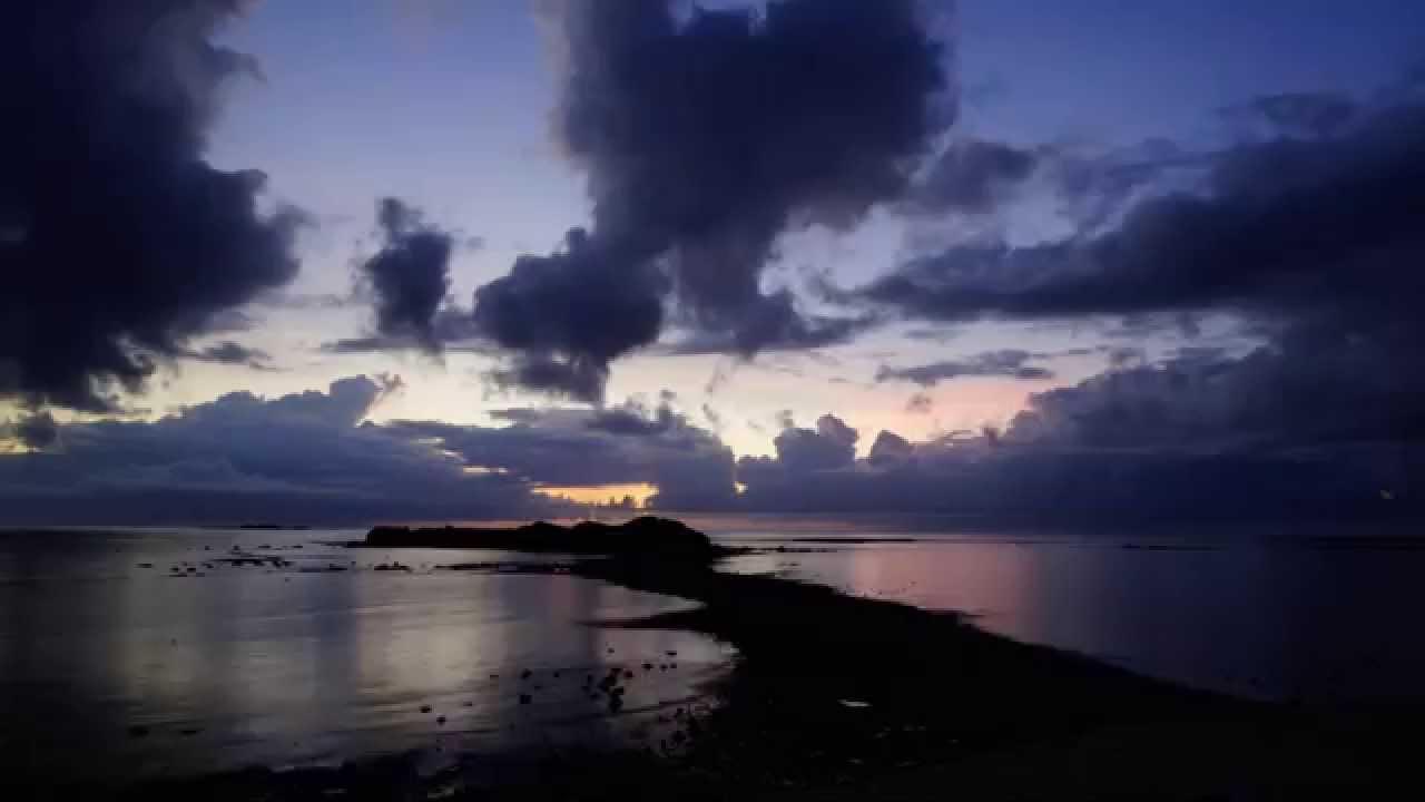 摩西分海縮時攝影